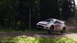 تصادفات در رالی WRC پیشرفت کردن ایمنی ماشین های رالی
