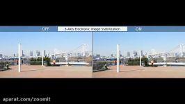 تثبیت کننده سه بعدی ویدیو سنسور IMX318 سونی  زومیت