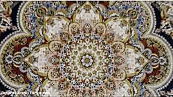 طرح یاسمن فرش قیطران