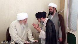 دیدار ایت الله اشکوری ایت الله محفوظی در قم