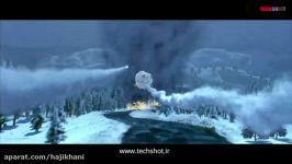 ویدیو نمایش تعقیب شدن جنگنده FA 18 هورنت توسط موشک SAM