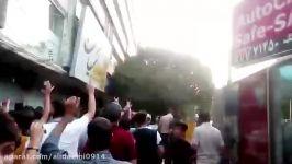 تظاهرات درتبریز