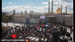 تشییع شکوه 7 شهید مدافع حرم در قُم سوریه