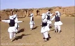 رقص محلی چوب بازی گروهی تربت جامی حاج حسن قرایی جامی
