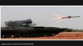 موشک ضدّ زره ناگ شلیک کن فراموش کن درمقابل داعش سوریه