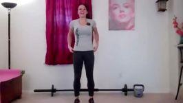 ورزش پرتحرک برای تناسب اندام خانمها