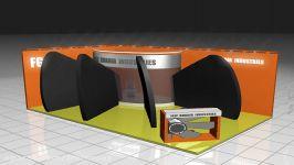 کلیپ غرفه طرح غرفه فیلم غرفه سازی طراحی غرفه نمایشگاهی