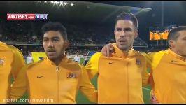 خلاصه بازی استرالیا 2 0 عراق مقدماتی جام جهانی
