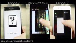 iPhone 7 vs iPhone 6s plus vs iPhone 6 Apps Speed Test