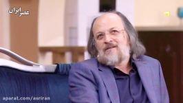 گفتگوی خودمانی مهران مدیری امین تارخ در برنامه دورهمی