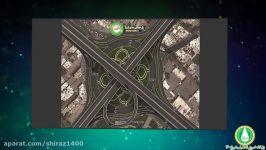 مروری بر تقاطعات سه سطحی چند سطحی در حال ساخت شیراز