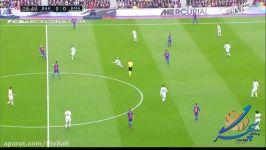 خلاصه بازی بارسلونا 1  رئال مادرید 1  ال کلاسیکو