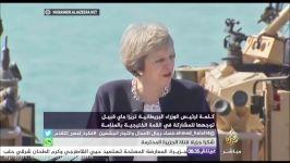ترزا مى تنگه هرمز بر ایجاد امنیت در خلیج تأكید كرد