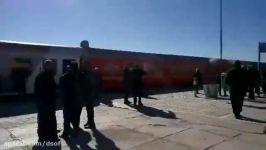 ایستگاه #قطار دامغان پس حادثه برخورد دو قطار