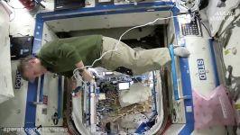 چالش مانکن در ایستگاه فضایی بین المللی