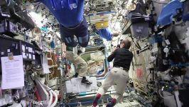 اجرای چالش مانکن در ایستگاه فضایی بین المللی