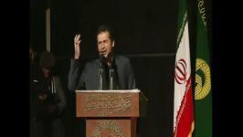 گفت در می زنند مهمان است ...شعرخوانی سیدحمیدرضا برقعی در وصف شهادت حضرت زهراس