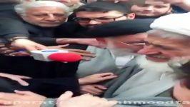 سخنان محمد هاشمی برادر آیت الله هاشمی رفسنجانی در حسینیه جماران #هاشمی رفسنجانی