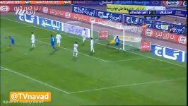 گل مردود استقلال به استقلال خوزستان