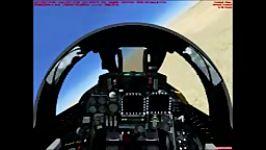 پرواز تامکت اف 14 در فرودگاه مهرآباد
