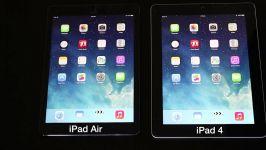 iPad Air VS iPad 4 SPEED TEST
