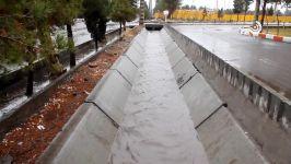 تاثیر پروژه هدایت آبهای سطحی سیرجان در بارندگیهای اخیر