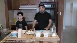 آموزش سیرابی همراه جواد جوادیhow to make serabi