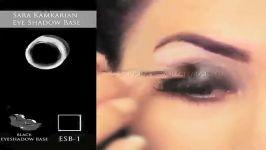 آموزش آرایش چشم عربی آموزش آرایش چشم سایه ترکیبی عربی آموزش آرایش چشم خلیجی