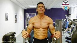 بدنساز مرد  فیتنس  بدنساز حرفه ایی