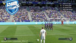 FIFA 17 FREE KICK TUTORIAL  NEW FREE KICKS TUTORIAL  THE SPECIAL TRIVELA FREE KICK