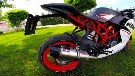 موتور سیکلت KTM RC250 اگزوز Tiger