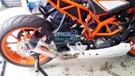 موتور سیکلت KTM RC250 اگزوز AHM