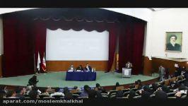 انتقاد دانشجو به بحران خوزستان درحضور استاندار خوزستان