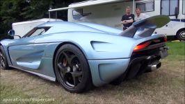 ماشین Koenigsegg Regera صدای 1800HP