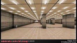 ایستگاه تقاطعی مترو ستاد شیراز، بزرگترین ایستگاه مترو
