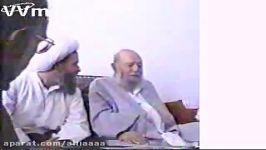 سوال ایت الله مبشر ایت الله کشمیری درمورد مرحوم قاضی