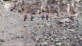 آبشار رایِن؛ آبشاری در دامنه های کوه هزار کرمان