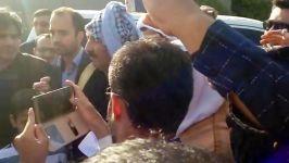 حضور سران برخی قبایل عرب خوزستان در استقبال دکتر...