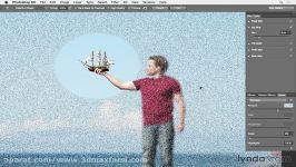 آموزش فتوشاپ ایجاد+حذف نویز Restore noise Blur Gallery