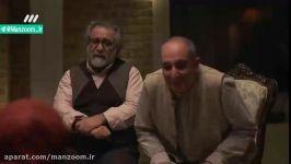سوتی باحال آزاده صمدی بازیگرنقش مهناز در«دیواربه دیوار»