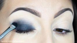 درس آرایش عروس  میکاپ عروس  سایه چشم