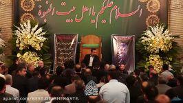 روضه..حاج محمود کریمی..مراسم مرحوم کربلایی سید محمد بنی فاطمه