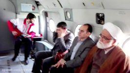 بازدید حجت الاسلام والمسلمین معزی ازمناطق زلزله زده