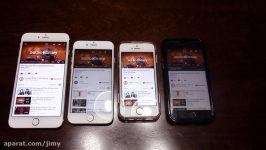 iPhone 7 V iPhone SE iPhone 6s iPhone 6s Plus SPEAKER TEST