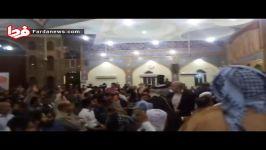 بیعت بزرگان قبایل استان خوزستان قالیباف
