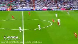 5گل برتر رئال مادرید در ماه آپریل 2017