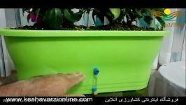 آبیاری خودکار گلدان توجه به نیاز رطوبتی گیاه گلدان
