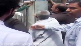 عاقبت موسسه کاسپین، موسسه ای پول هزاران ایرانی را بالا کشید.خیابان بهشتی زاهدان. ۱۶ اردیبهشت ۱۳۹۶