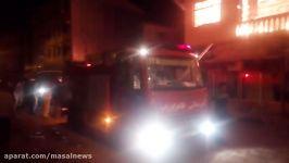 آتش سوزی در خیابان روشن ماسال 2  13 خرداد96 ماسال نیوز