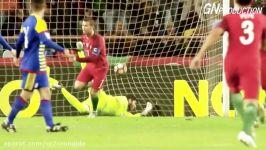 تمام 4 هتریک کریستیانو رونالدو در تیم ملی پرتغال